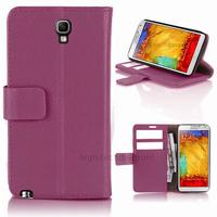 Housse etui coque portefeuille pour Samsung n7505 Galaxy Note 3 Neo Lite + film ecran - MAUVE