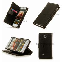 Housse etui coque portefeuille pour LG Optimus F5 + film ecran