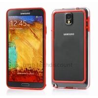 Housse etui coque bumper pour Samsung Galaxy Note 3 n9000 n9005 + film ecran - ROUGE