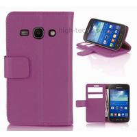 Housse etui coque portefeuille pour Samsung Galaxy Ace 3 s7270 s7275  + film ecran - MAUVE