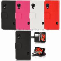 Housse etui coque pochette portefeuille pour LG Optimus L5 II 2 + film ecran