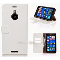 Housse etui coque pochette portefeuille pour Nokia Lumia 1520 + film ecran - BLANC