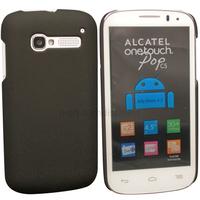 Housse etui coque rigide pour Alcatel One Touch Pop C5 5036D + film ecran - NOIR RIGIDE