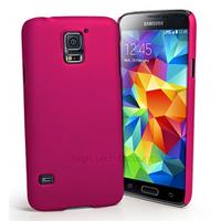 Housse etui coque fine rigide pour Samsung i9600 Galaxy S5 + film ecran - ROSE RIGIDE