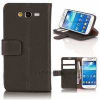 Housse etui coque portefeuille pour Samsung G7105 Galaxy Grand 2 + film ecran - NOIR