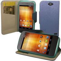 Housse etui coque pochette portefeuille pour Orange HI 4G - BLEU