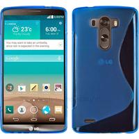 Housse etui coque pochette silicone gel fine pour LG G3 + film ecran - BLEU