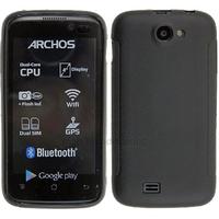 Housse etui coque pochette silicone gel fine pour Archos 40 Titanium - NOIR