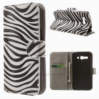 Housse etui coque portefeuille PU cuir pour Alcatel One Touch Pop C9 7047D + film ecran - ZEBRE