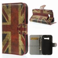 Housse etui coque portefeuille PU cuir pour Alcatel One Touch Pop C5 5036D + film ecran - UK