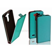 Housse etui coque pochette PU cuir fine pour LG G3 S (G3 Mini) + film ecran - BLEU