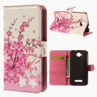 Housse etui coque pochette portefeuille PU cuir pour Alcatel One Touch Pop C7 7045D + film ecran - CERISIER