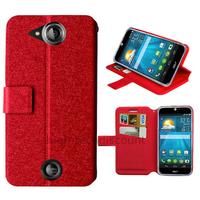 Housse etui coque pochette portefeuille pour Acer Liquid Jade + film ecran - ROUGE