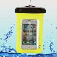 Housse etui coque pochette etanche waterproof pour Huawei Ascend Y3 - Y360 - JAUNE