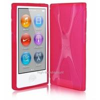 Housse etui coque silicone gel X ROSE pour Apple iPod Nano 7 7G + film ecran