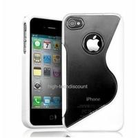 Housse etui coque silicone gel BLANC pour Apple iPhone 4S / iPhone 4 + film ecran