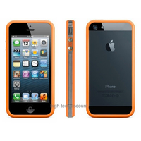 Housse etui coque bumper ORANGE pour Apple iPhone 5 5S 5G + film ecran