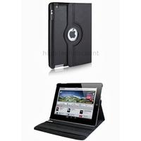 Housse etui coque pochette simi cuir pour Apple iPad 5 Air + film ecran - NOIR