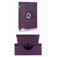 Housse etui coque pochette simi cuir pour Apple iPad 5 Air + film ecran - MAUVE