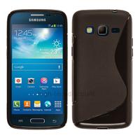 Housse etui coque silicone gel pour Samsung G3815 Galaxy Express 2 + film ecran - NOIR