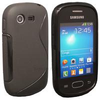 Housse etui coque silicone gel pour Samsung Galaxy Star s5280 s5282 + film ecran - NOIR