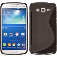 Housse etui coque silicone gel pour Samsung Galaxy Grand 2 g7105 + film ecran - NOIR