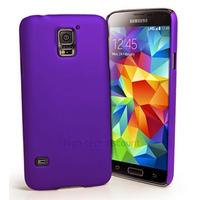 Housse etui coque fine rigide pour Samsung i9600 Galaxy S5 + film ecran - MAUVE RIGIDE