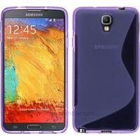 Housse etui coque gel pour Samsung n7505 Galaxy Note 3 Neo Lite + film ecran - MAUVE