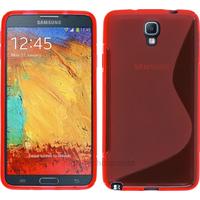 Housse etui coque gel pour Samsung n7505 Galaxy Note 3 Neo Lite + film ecran - ROUGE