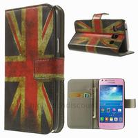 Housse etui coque portefeuille PU cuir pour Samsung g3500 Galaxy Core Plus + film ecran - UK