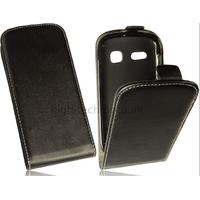 Housse etui coque pochette PU cuir fine pour Alcatel One Touch Pop C3 4033D + film ecran - NOIR
