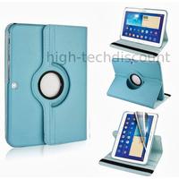 Housse etui coque pochette PU cuir pour Samsung Galaxy Tab 4 10.1 T530 + film ecran - BLEU