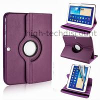Housse etui coque pochette PU cuir pour Samsung Galaxy Tab 4 10.1 T530 + film ecran - MAUVE