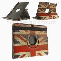 Housse etui coque pochette PU cuir pour Samsung Galaxy Tab 4 10.1 T530 + film ecran - UK