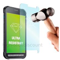 Film de protection vitre verre trempe transparent pour Samsung G388F Galaxy Xcover 3