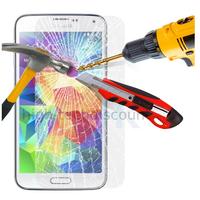 Film de protection vitre verre trempé transparent pour Samsung i9600 Galaxy S5 Neo