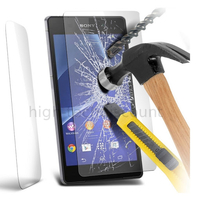 Film de protection vitre verre trempe transparent pour Sony Xperia Z2