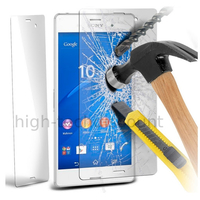 Film de protection vitre verre trempe transparent pour Sony Xperia Z3
