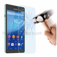 Film de protection vitre verre trempe transparent pour Sony Xperia C4 / C4 Dual