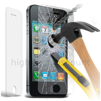 Film de protection vitre verre trempe transparent pour Apple iPhone 4 / 4S