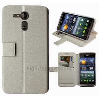 Housse etui coque pochette portefeuille pour Acer Liquid E700 + film ecran - BLANC