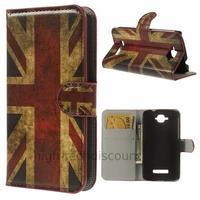 Housse etui coque pochette portefeuille PU cuir pour Alcatel One Touch Pop C7 7045D + film ecran - UK