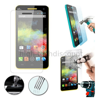 Film de protection vitre verre trempe transparent pour Wiko Rainbow 4G