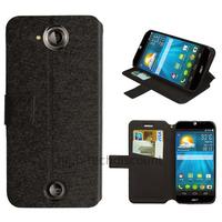 Housse etui coque pochette portefeuille pour Acer Liquid Jade S + film ecran - NOIR