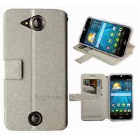 Housse etui coque pochette portefeuille pour Acer Liquid Jade S + film ecran - BLANC
