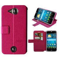 Housse etui coque pochette portefeuille pour Acer Liquid Jade S + film ecran - ROSE