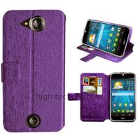 Housse etui coque pochette portefeuille pour Acer Liquid Jade S + film ecran - MAUVE
