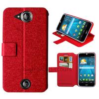 Housse etui coque pochette portefeuille pour Acer Liquid Jade S + film ecran - ROUGE