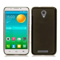 Housse etui coque silicone gel fine pour Alcatel One Touch Pop S7 7045 + film ecran - NOIR
