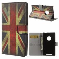 Housse etui coque portefeuille simili cuir pour Nokia Lumia 830 + film ecran - UK